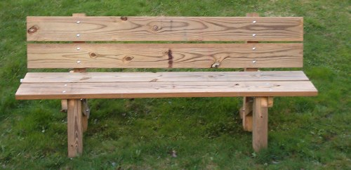 wood bench kit